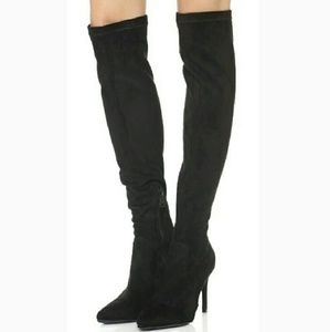 NEW Joie Jemina Faux Suede Over The Knee Boots